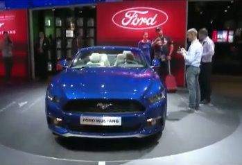 Ford no Sal�o de Paris: Mustang e Edge