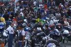 Recife Moto Weekreuniu motociclista, admiradores e participantes de motoclubes