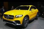 Mercedes leva conceito GLC ao Sal�o de Xangai, um cup� com atitude de SUV
