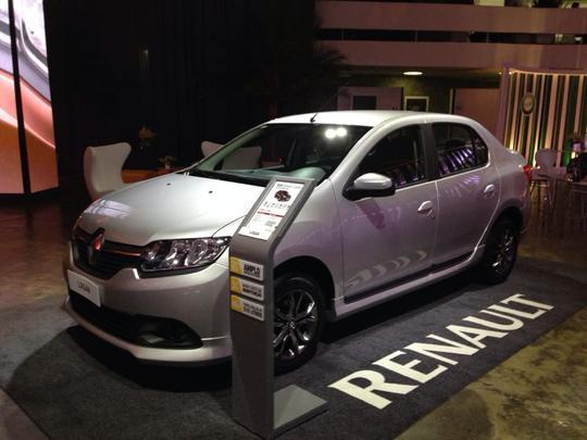 Renault Logan 2014 - Renault/divulga��o