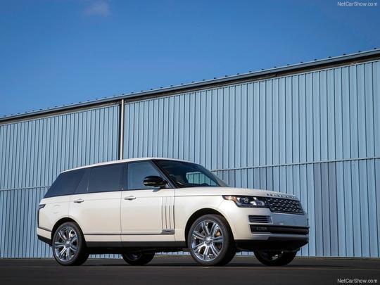 Land Rover Range Rover LWB  - Land Rover/divulgação