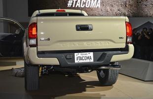 A Tacoma poderá ser equipada tanto pelo bloco 2.7 de quatro cilindros quanto pelo propulsor 3.5 V6