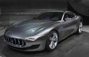 Maserati Alfieri: Coroando o bom momento da Maserati, o conceito chega antecipando tendências de design e já tem produção confirmada para o próximo ano.