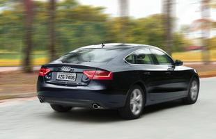 A Audi apresentou o A4 e A5, que passam a contar com motor 1.8 turbo FSI