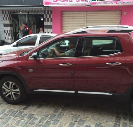 Picape Fiat Toro em vários flagras e projeções