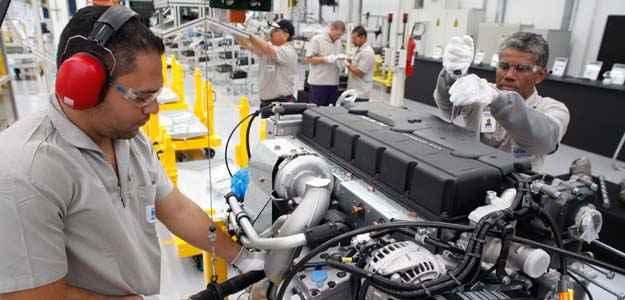 Novos motores da MAN já estão sendo montados pela MWM de São Paulo (Malagrine/divulgação)
