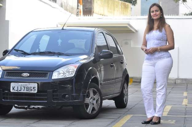Suzete adoraria que seu Fiesta tivesse câmbio automático (Paulo Paiva/ Esp DP/ D.A Press )