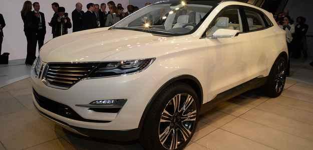 A Lincoln quer entrar na onda dos SUV compactos de luxo e mostra o conceito MKC (Michellin/divulgação)