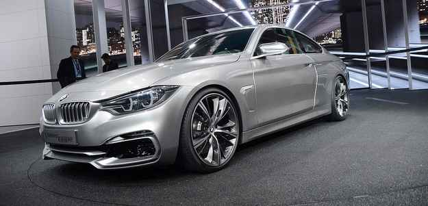 O Série 4 da BMW ganhou uma versão cupê neste belo conceito (Michellin/divulgação)