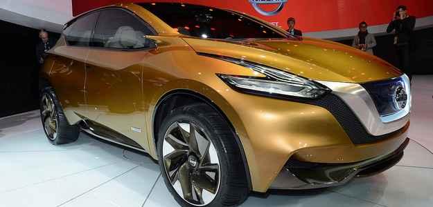 Nissan Resonance Crossover Concept reune ousadia e elegância. Detalhe para os retrovisores (ou a falta deles) (Michelin/divulgação)