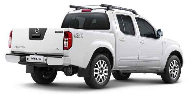 Frontier tem capacidade de carga para at� 1.030 kg (Nissan/divulga��o)