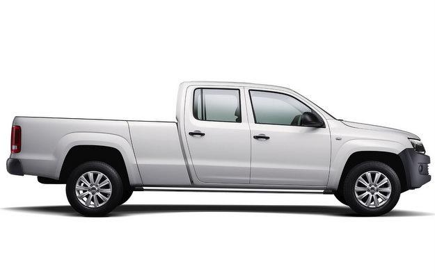 A nova Amarok tem cabine dupla e 5,90 m de comprimento (Volkswagen/divulga��o)