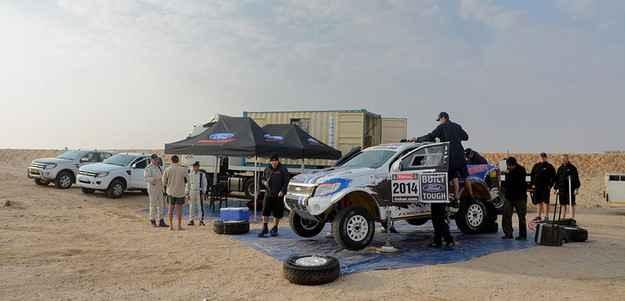 O Dakar � realizado pelo sexto ano consecutivo na Am�rica do Sul (Ford/divulga��o)
