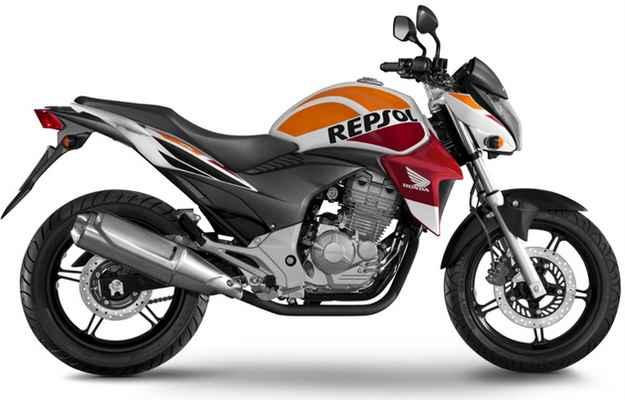 O modelo é pintado com cores inspiradas na RC213V, que representa a montadora na MotoGR (Honda/divulgação )