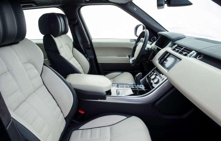 Painel é puro luxo  - Land Rover/divulgação