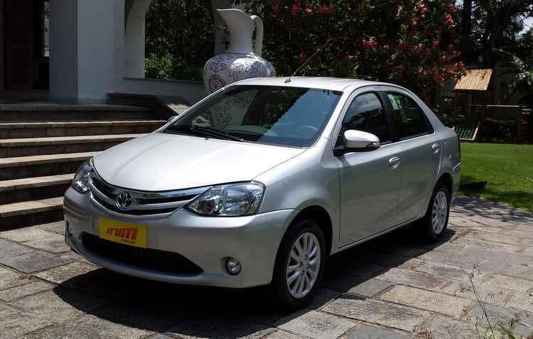 Toyota Etios Sedan conquistou a mesma média da GM  - Luciana Morosini/DP/D. A. Press