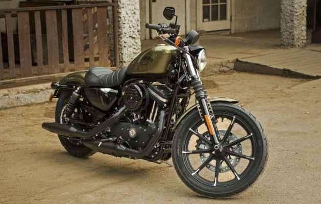Iron 883 Dark Custom traz suspensões ajustáveis  - Harley Davidson/divulgação