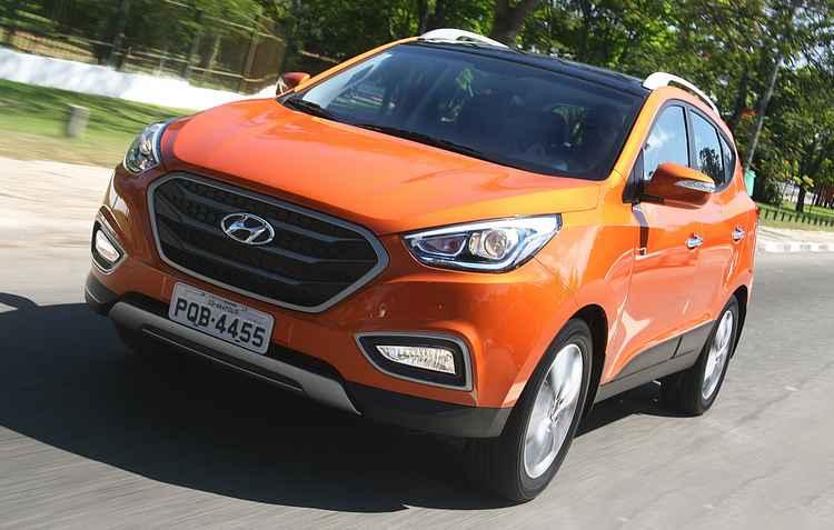 Nova grade chama atenção  -  Hyundai/Divulgacao