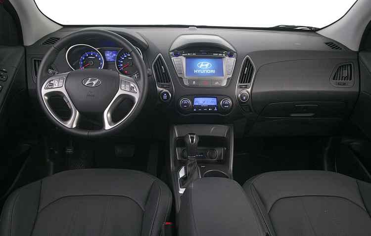 Interior continua o mesmo e mantém o bom acabamento, sem muita sofisticação  - Hyundai/Divulgacao