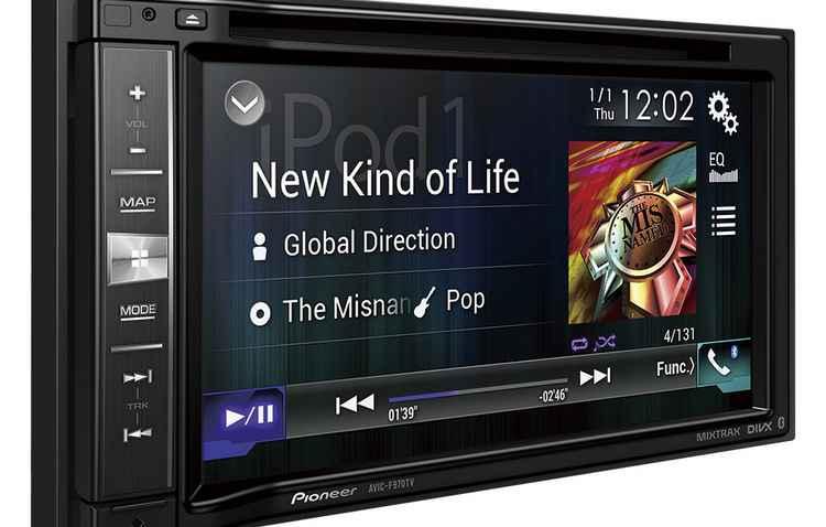 Nova central multimídia da Pionner já vem com Apple Car Play  - Pionner/ divulgacao