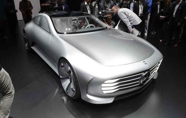 Carro é destaque da Mercedes Benz no evento - Newspress/divulgação