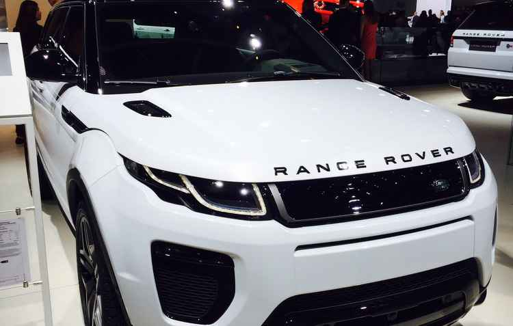 Range Rover Evoque  - Jorge Moraes/ DP/ D.A Press