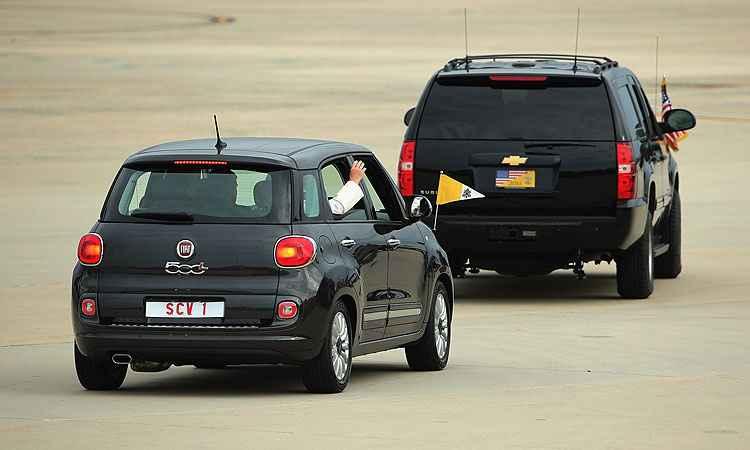 Chip Somodevila/ Getty Images/ AFP - Crossover 500X é bem pequeno para os padrões americanos