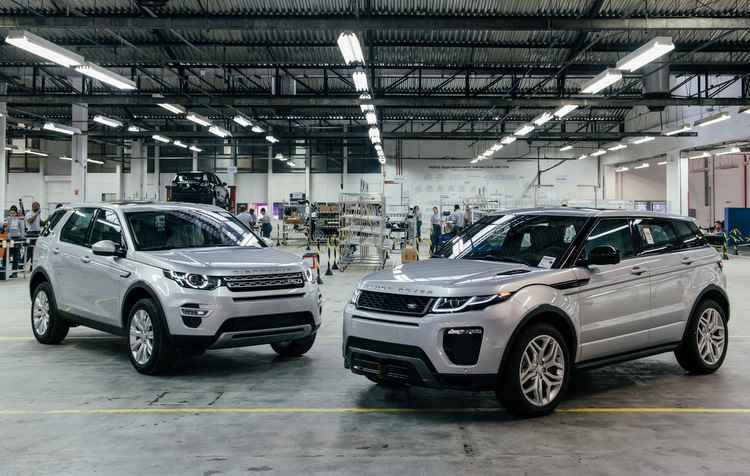Fábrica começa a funcionar em seis meses  - Range Rover/divulgação