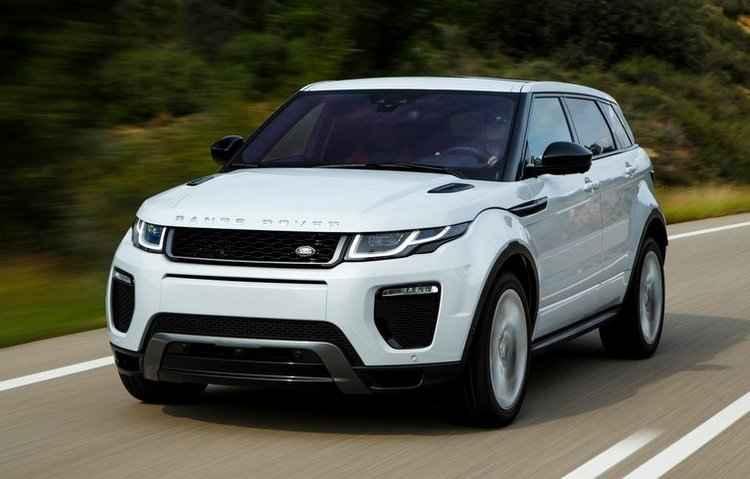 Range Rover Evoque deve ter preços mantidos - Range Rover/divulgação