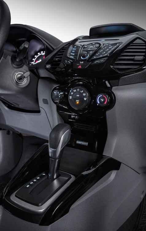 Opção de câmbio automático na versão de entrada  - Ford/divulgação