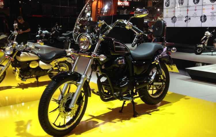 Modelo lembra Horizon 250, com rodas de liga leve e lanternas em LED  - Taciana Goes/DP/D.A Press