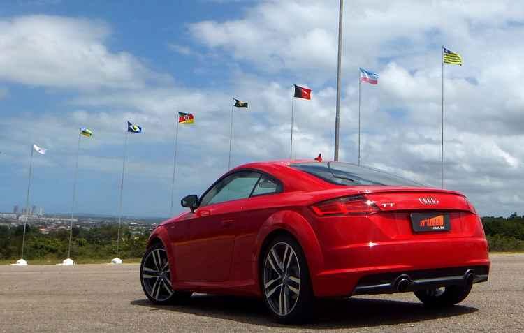Audi chega a 100 km/h em apenas 5,9 segundos  - Bruno Vasconcelos/DP/DA PRESS