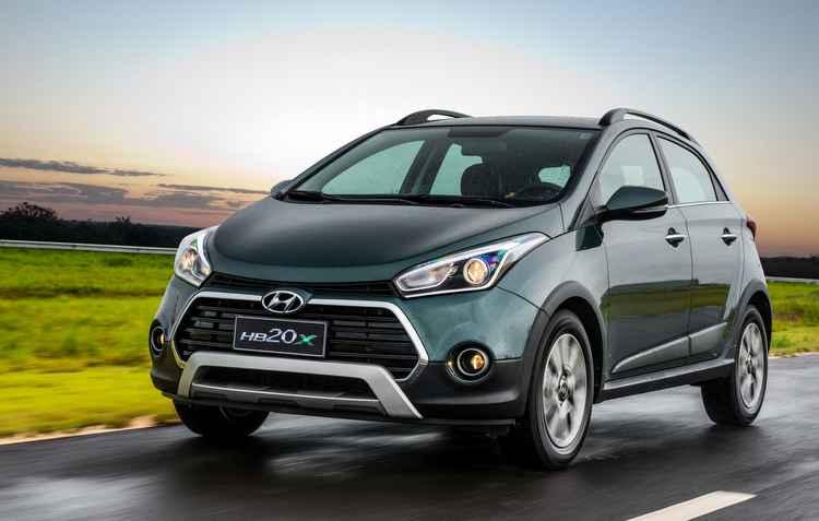 Nova opção de verde perolizado é novidade na versão topo  - Hyundai/divulgação