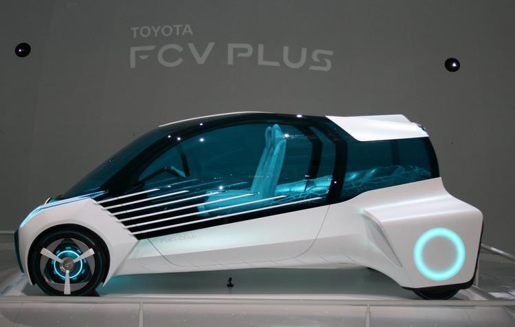 Honda FCV Plus rivaliza com Toyota Mirai  - Newspress/divulgação