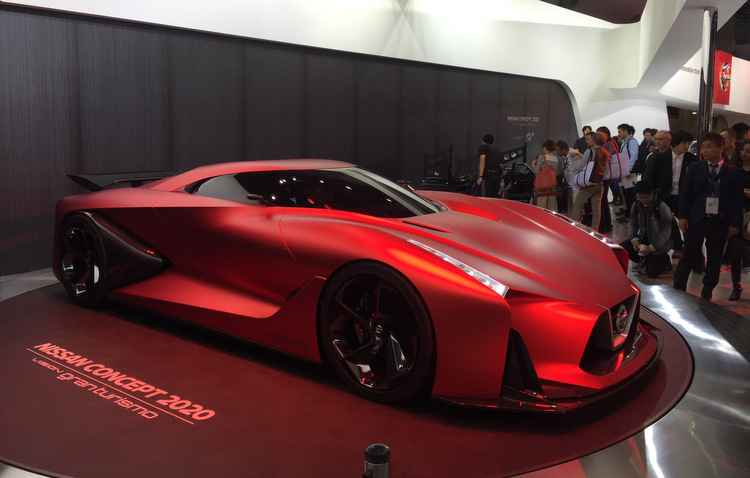 Nissan Motor Nissan apresenta o Concept Gran Turismo Visão 2020 durante pré-estréia de imprensa no estande da empresa no Salão Automóvel de Tóquio  - Jorge Moraes/ DP/ D.A Press