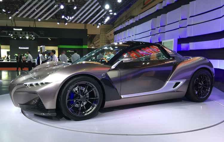Yamaha Sports Ride Concept é a terceira tentativa da marca no segmento automotivo - Jorge Moraes/DP/DA PRESS
