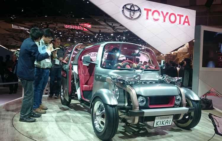 Toyota Kikai exibe todos os componentes, como motor e tanque de combustível   - Jorge Moraes/DP/DA PRESS