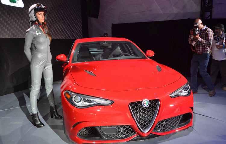 Alfa Romeo Giulia  - newspress/ divulgação