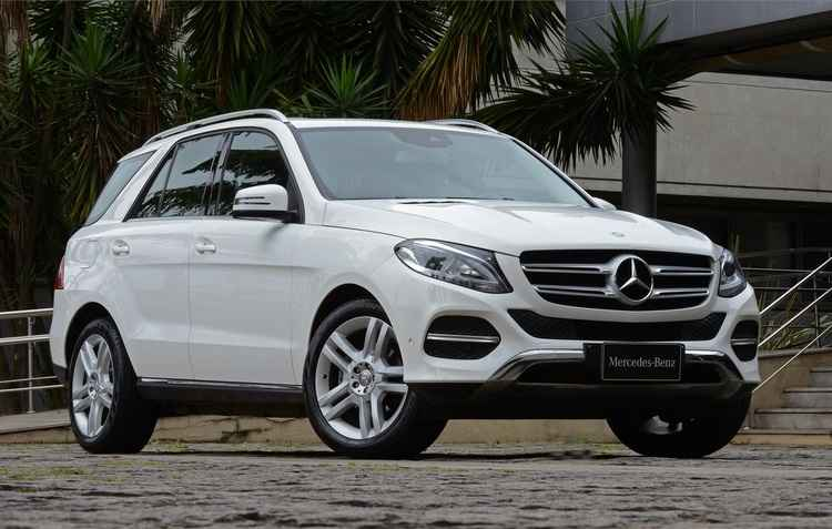 Carro traz para-choques com proteção inferior cromada  - Mercedes/divulgação
