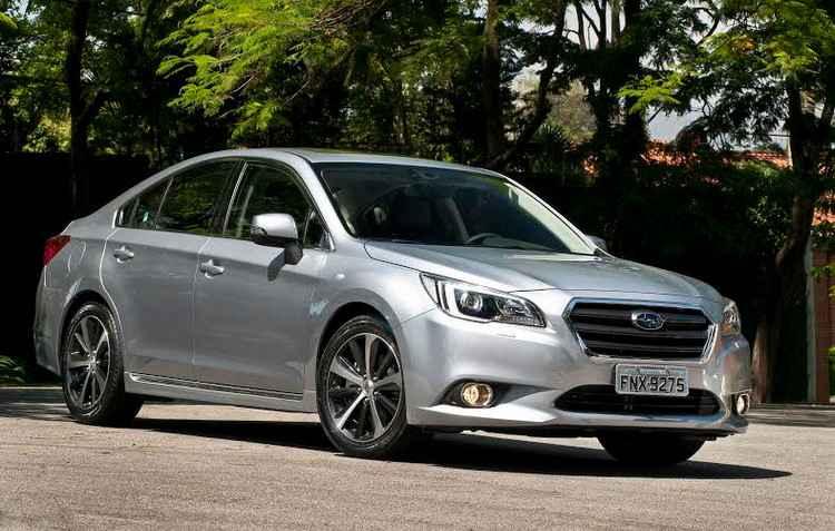 Legacy tem estilo na carroceria e chega por R$ 152.900 - Subaru/Divulgacao
