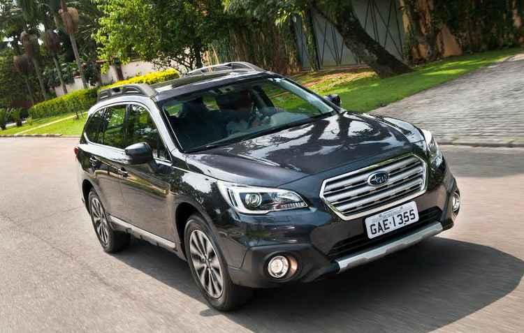 Segundo Subaru, Outback inaugura segmento batizado Crossuv, uma mistura de SUV com crossover  -  Subaru/Divulgacao