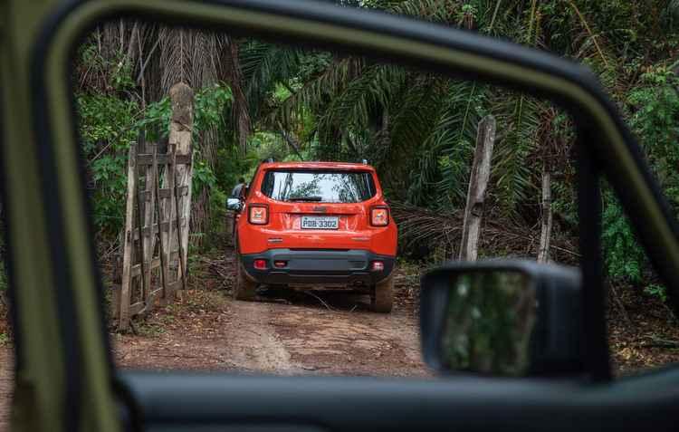 Valente, nosso Jeep se comportou bem durante os três dias de expedição  - Marcos Camargo/Divulgacao