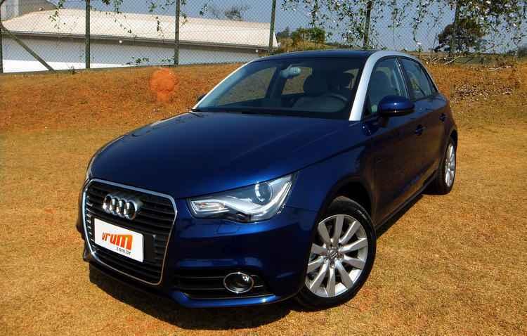 Audi A1 é até vendido acima da tabela por ter poucas unidades - Bruno Vasconcelos/DP/DAPRESS