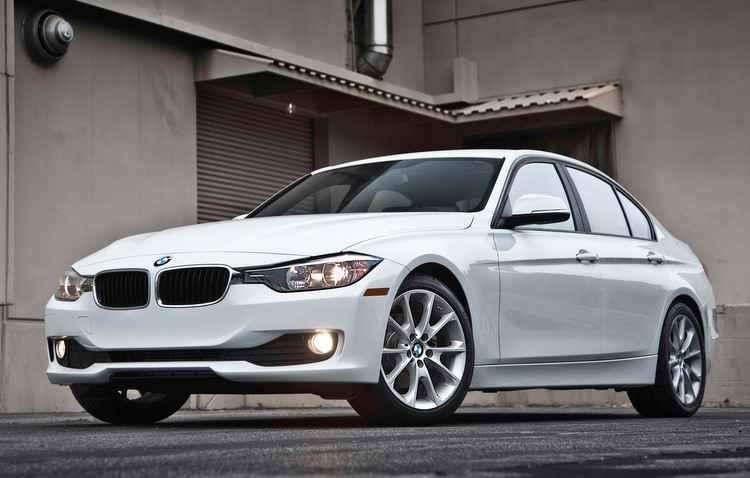 BMW 320i é um dos modelos de luxo alugados  - BMW / Divulgação