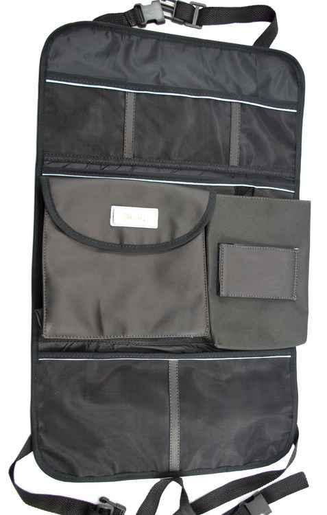 Uma opção para organizar a bagunça diária de dentro do automóvel é adquirir bolsas apropriadas encontradas no mercado, como este da ZotLuz - Zotluz / Divulgação