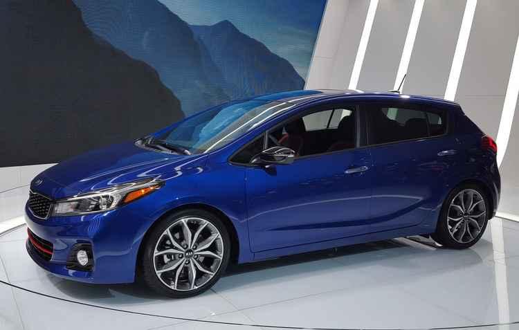 Versão hatch também marca presença em Detroit  - Kia/divulgação