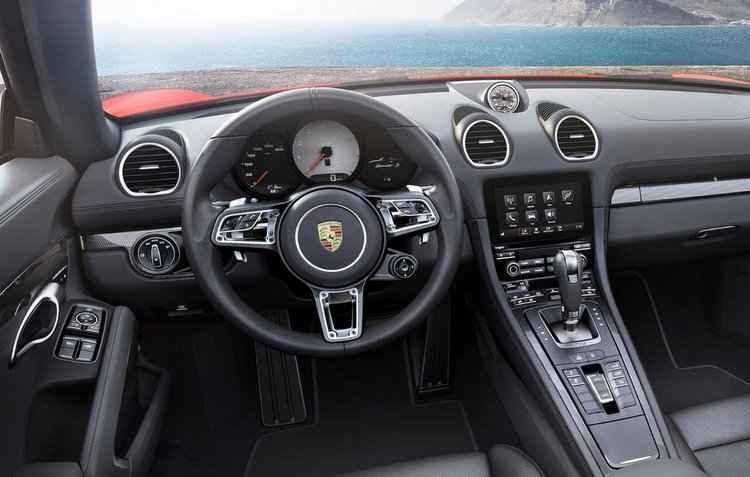 Por dentro, o novo sistema multimídia - Porsche / Divulgação
