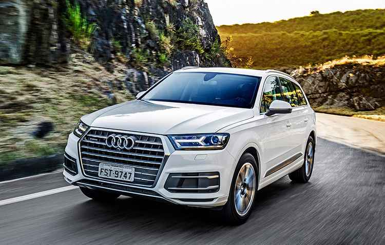 Maior SUV da montadora acelera de 0 a 100 km/h em 6,1 segundos - Audi / Divulgação
