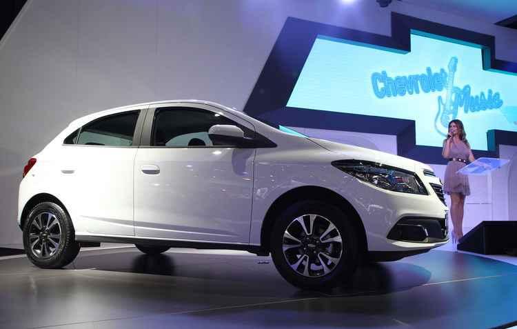 Chevrolet Onix foi o mais vendido no mês de janeiro  - Jorge Moraes / DP