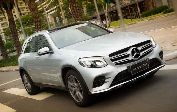Frente do novo GLC - Mercedes / Divulgação